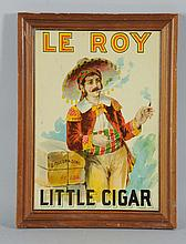 Le Roy Little Cigar Sign.