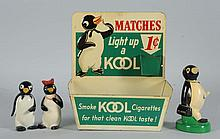 Lot of 4: Kool Cigarette Items.