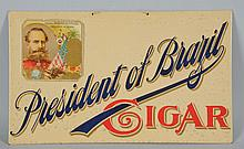 President of Brazil Cigar Sign.