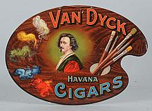 Van Dyke Cigar Tin Sign.