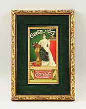 1905 Smaller Coca-Cola Ad Card & Coupon.