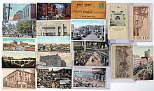 Lot of 19: Coca-Cola & Dr. Pepper Postcards.