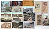 Lot of 19: Coca-Cola & Dr. Pepper Postcards.