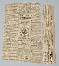 1880s Pemberton's French Wine Coca Newspaper Ad.