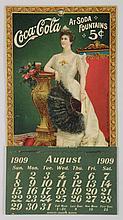 1909 Lillian Nordica Coca-Cola Coupon.