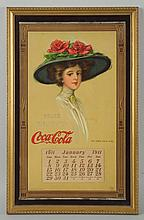 1911 Coca-Cola Calendar.