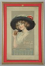 1913 Coca-Cola Hamilton King Calendar.