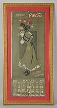 1912 Coca-Cola Large Version Calendar.