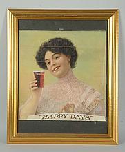 1910 Coca-Cola Large Format Calendar Top.