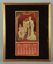 1904 Coca-Cola Framed Calendar.