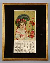 1902 Coca-Cola Calendar.