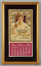 1903 Coca-Cola Framed Calendar.