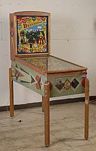 1948 Gottlieb Buccaneer Pinball Machine.