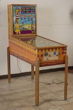 1953 Gottlieb Flying High Pinball Machine.