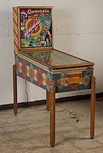 1952 Gottlieb Quartette Pinball Machine.