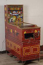 1947 United Singapore Pinball Machine.