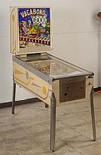 1962 Williams Vagabond Pinball Machine.