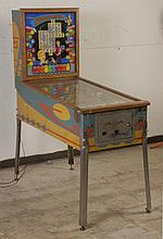 1959 Williams Crossword Pinball Machine.
