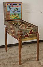 1940 Genco Formation Pinball Machine.