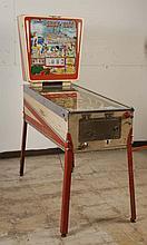 1967 Gottlieb Showboat Pinball Machine.