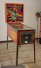 1978 Gottlieb Sinbad Pinball Machine.
