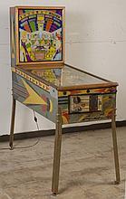 1955 Gottlieb Wishing Well Pinball Machine.