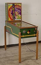 1950 Williams Dreamy Pinball Machine.