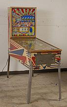 1960 Gottlieb Kewpie Doll Pinball Machine.