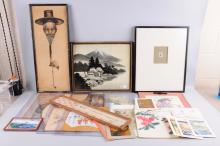 Large Lot Of Assorted Art Pieces.
