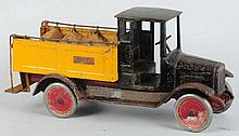 Pressed Steel Buddy L Ice Delivery Truck.