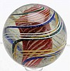 Large 3-Stage Solid Core Swirl Marble.