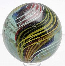 Large Divided Core Swirl Marble.
