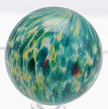 Large Onionskin Marble with Mica.
