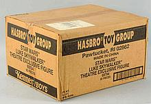 Sealed Case of Hasbro Star Wars Theatre Figures.