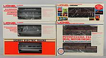 Lionel Pennsylvania Passenger Car Train Set.