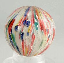 Clown Onionskin Marble with Mica.