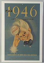 1946 Coca-Cola Calendar.