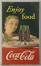 1952 Coca-Cola Poster.