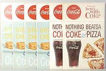 6 Coke with Grilled Cheese/Pizza Display Packets.
