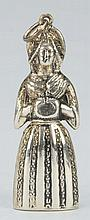 Rare Sterling Silver Figural Dutch Lady.