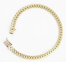 14K YG Bracelet.