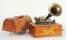 Graphophone with Horn.