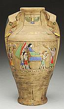 Monumental Austrian Ceramic Vase.