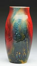 Royal Doulton Flame Vase.