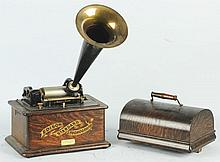 Edison Phonograph with Horn.