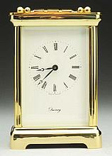 Gold Quincy Carriage Clock.