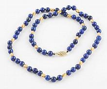 Blue Lapis Necklace.