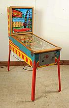 Williams Gusher Pinball Machine (1958).