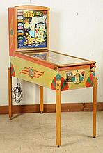 Gottlieb King Cole Pinball Machine (1948).