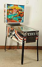 Bally Eight Ball Pinball Machine (1977).